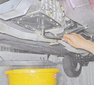 замена масла в кпп ваз 2107-3