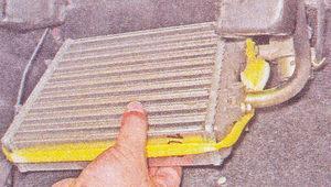 замена радиатора печки на ваз 2107-5