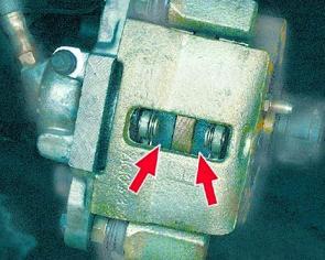 Замена передних тормозных колодок на ВАЗ 2109, 2108, 21099
