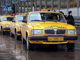 В Москве такси пустили на выделенные полосы