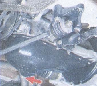 Замена масла и масляного фильтра на автомобиле ВАЗ 2109
