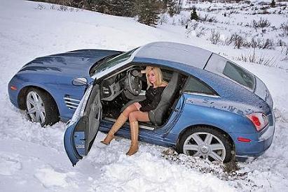 Использование зимней резины в снег