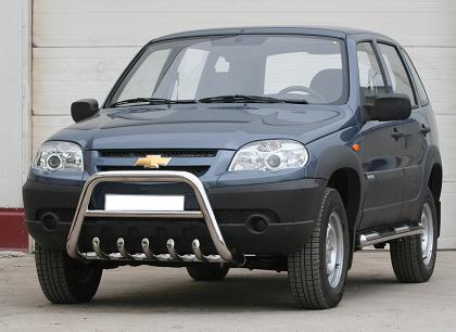 Модернизация внедорожника Chevrolet Niva