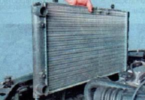 Как снять и установить радиатор на Калине