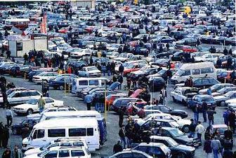 На автомобильном рынке начался сильный спад продаж