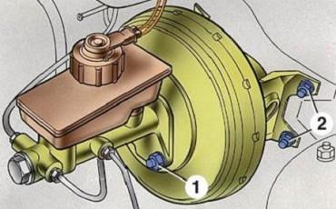 Главный тормозной цилиндр ВАЗ-2114, 2115, 2113